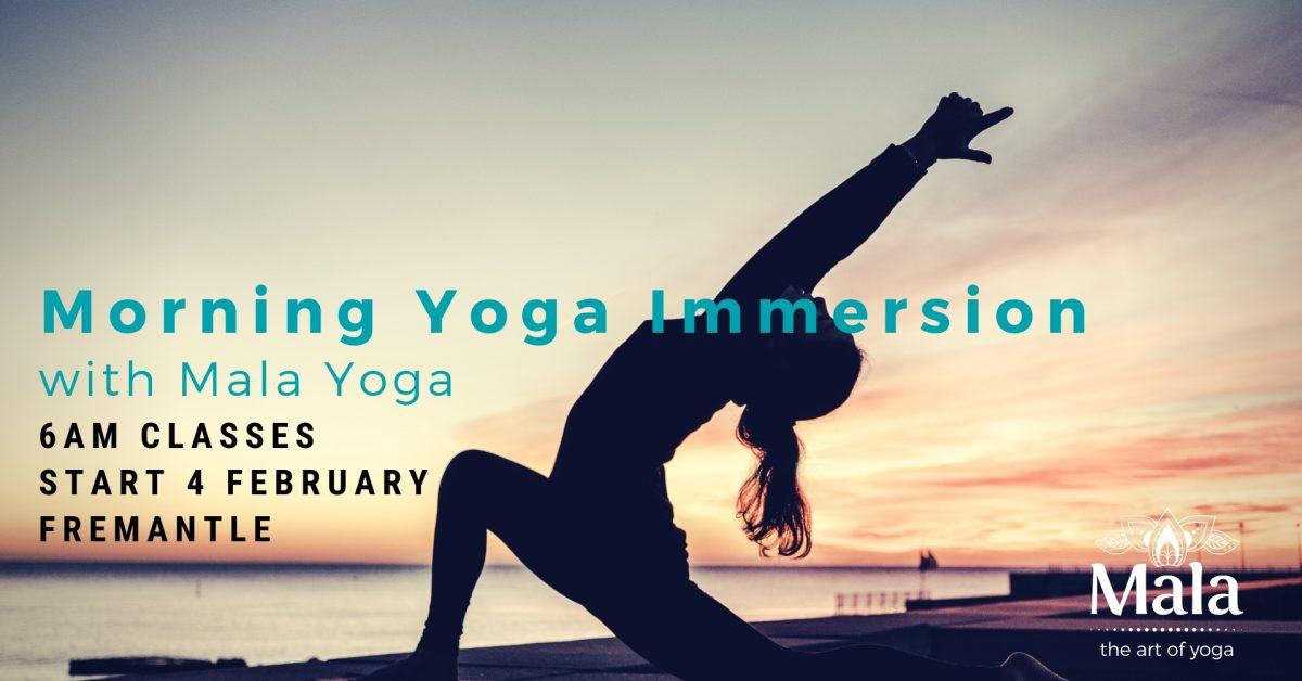 Morning Yoga Immersion with Mala Yoga, Fremantle Pert