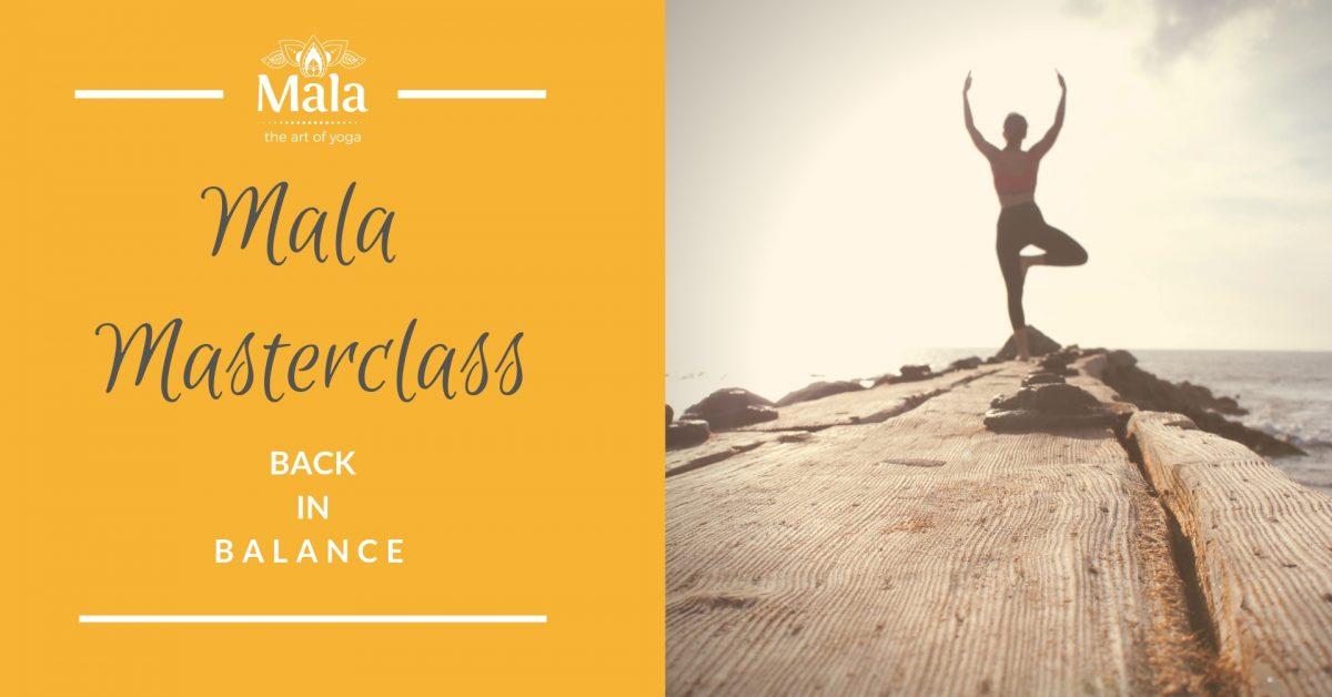 Mala Masterclass Back In Balance - Mala Yoga Fremantle Perth